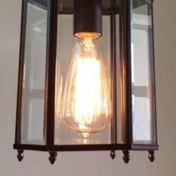Refinishing a Light Fixture