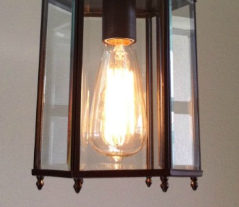 How to Refinish a LIght Fixture
