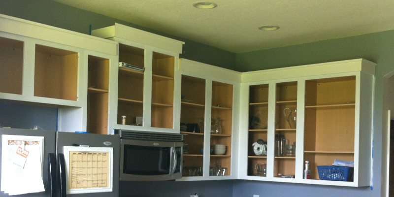 Painting Cabinets Part 1