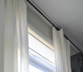 Cheapest and Easiest Curtains EVER. (Part 2)