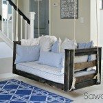 Crib Mattress Porch Swing
