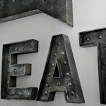 Faux Metal Vintage Sign