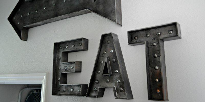Faux Metal Vintage Sign