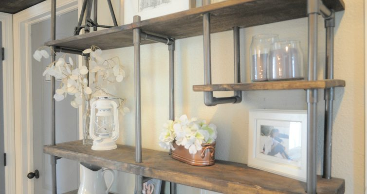 PVC Pipe Shelf