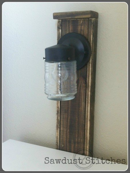 Sawdust2stitches master bedroom lamp post