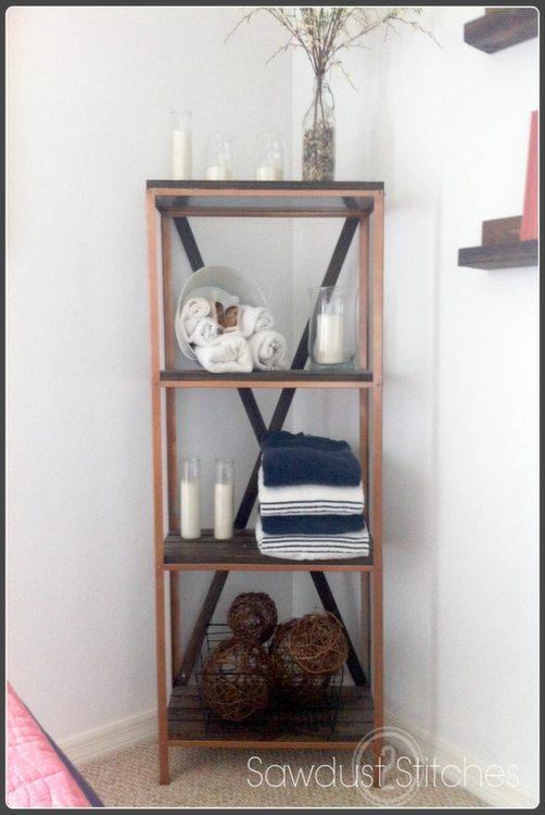 Ikea Hack Shelf Makeover Sawdust2stitches