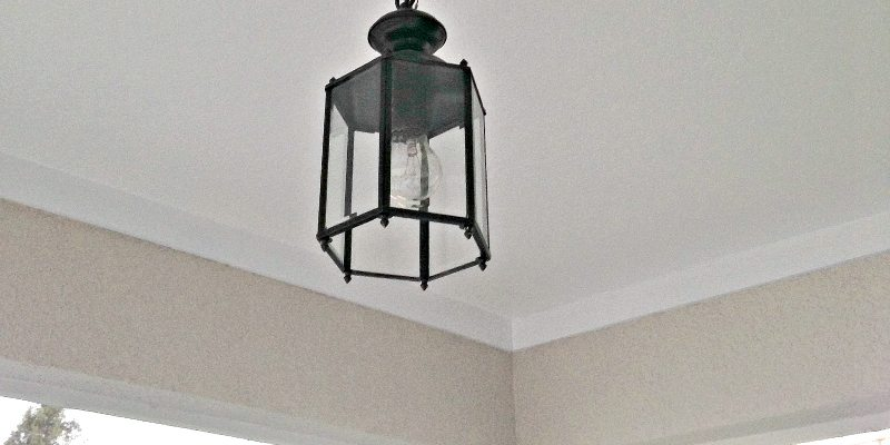 Patio: Don't forget the Ceiling