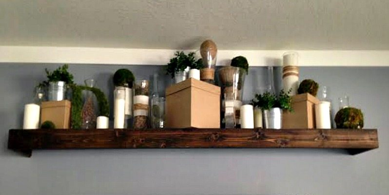 Staging a Shelf