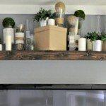 Transform an Ikea shelf into a Pottery Barn Ledge