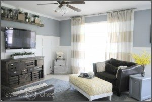 Wall Color:  Diving Dolphin Gray by: Colorplace