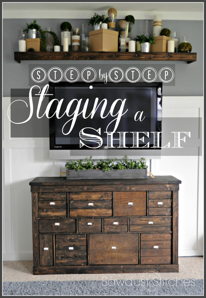 staging a shelf  tutorial ss