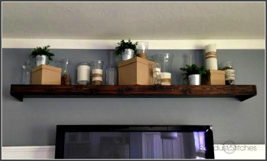 staging a shelf vases ss