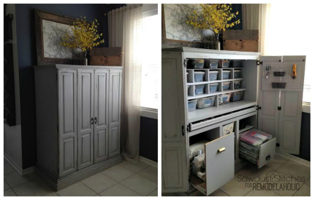 craft myrepurposedlife door life wall storage into repurposed doors dresser a louvered made my com cabinet shutter