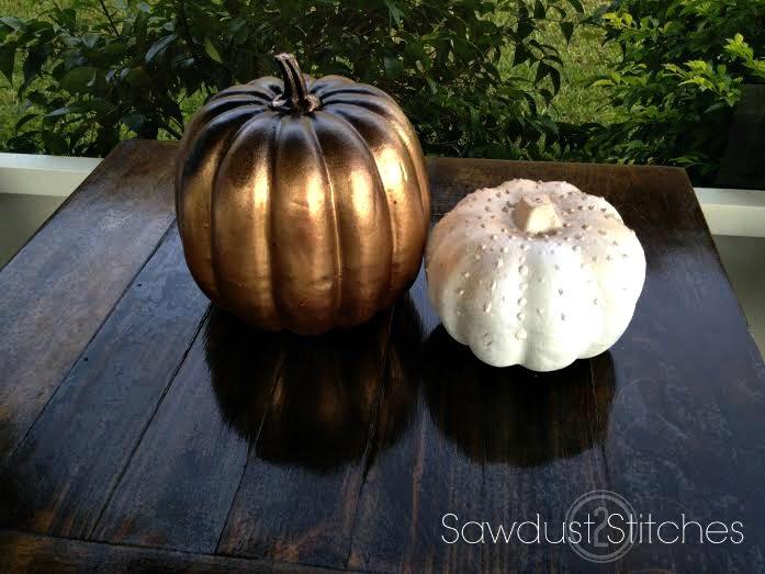 metallic pumpkins ss