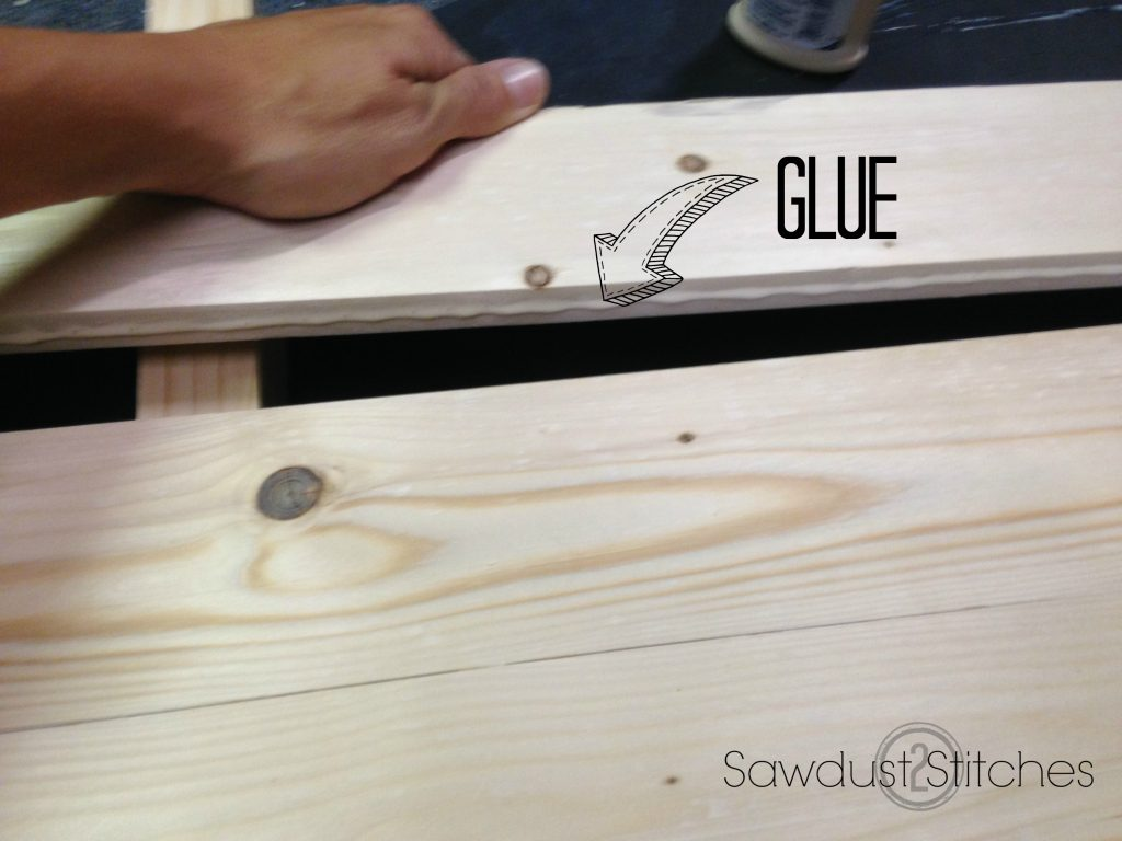 BAr table sawdust2stitches glue