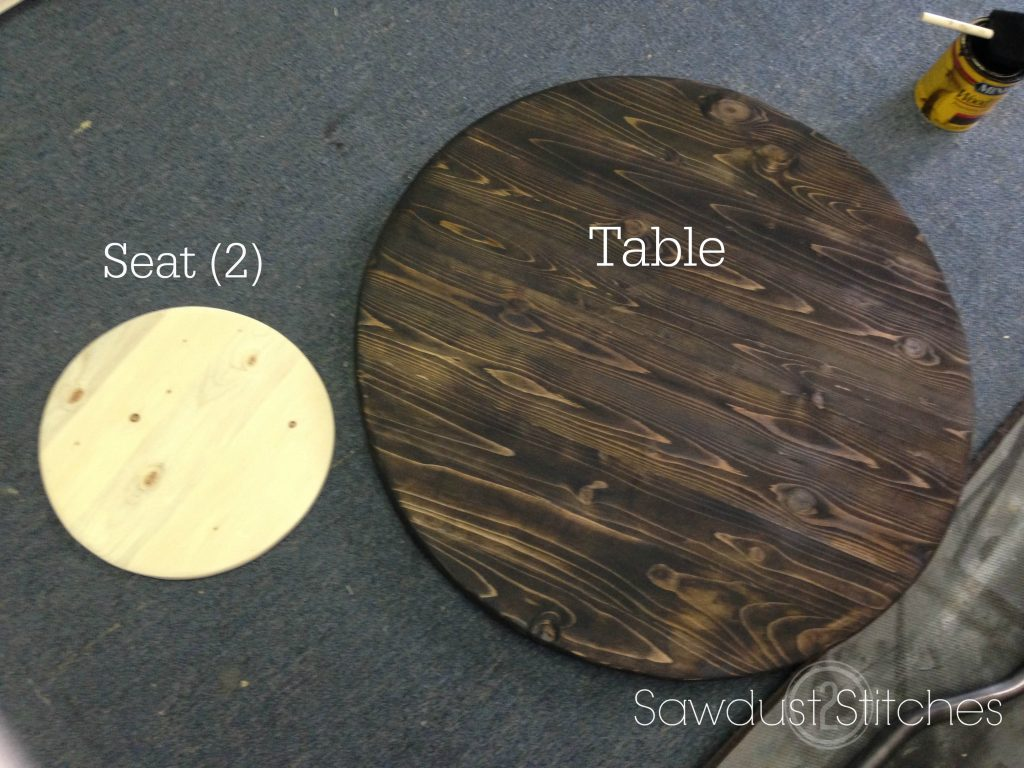 PUb Table SAwdust2stitches slabs