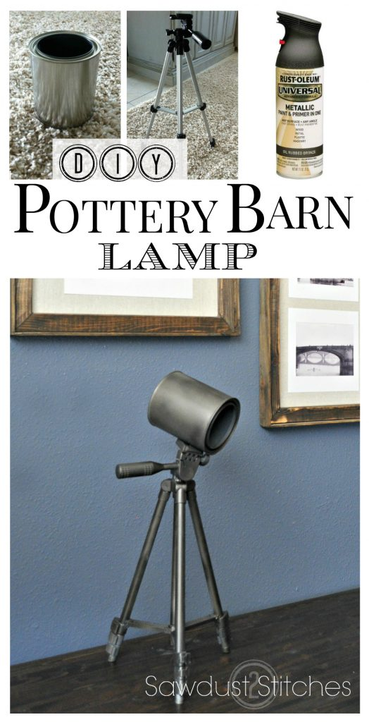 Pottery barn lamp pinterest   sawdust2stitches