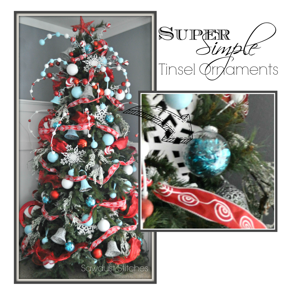 Untitled tinsel ornaments