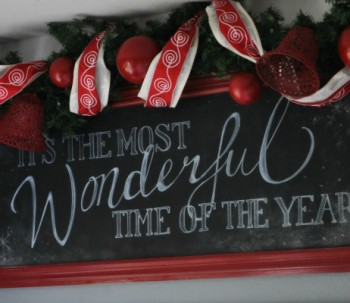 Holiday Chalkboard Signs