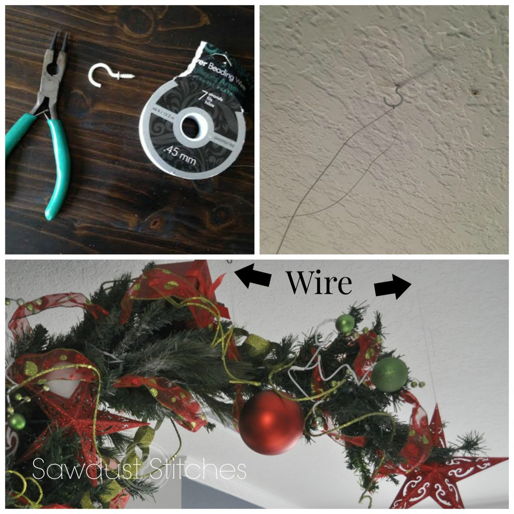 who ville tree sawdust 2 stitches  wire