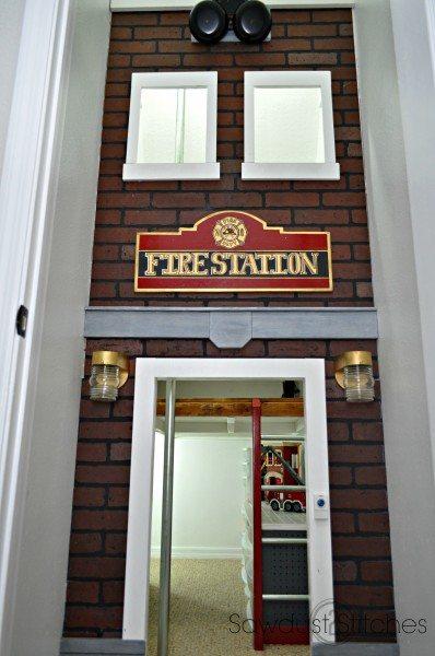 Under The Stairs Playhouse Firestation Sawdust 2 Stitches
