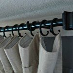 Conduit Curtain Rod WITH End Caps