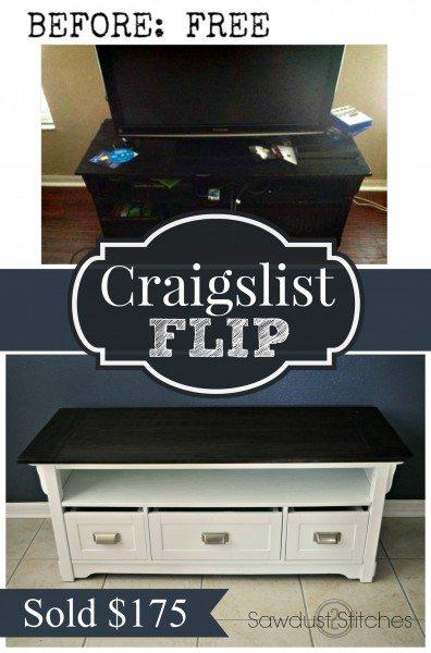 Craiglist Flip Sawdust2stitches