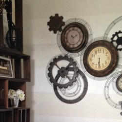 Steampunk Clock feature sawdust2stitches