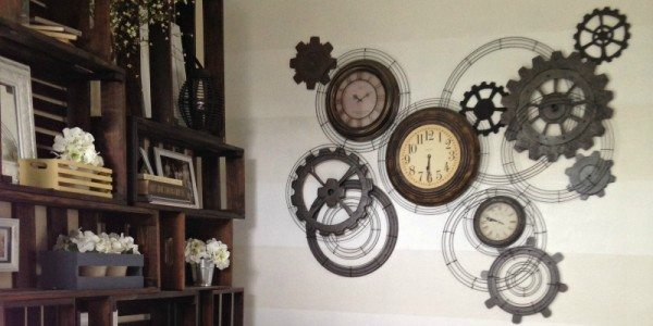 Steampunk Gear Clock