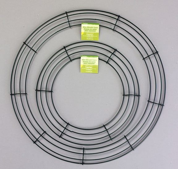Wire-Wreath-form