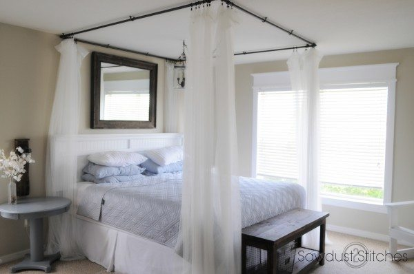 Sawdust2stitches bed canopy : ceiling canopies for beds - memphite.com