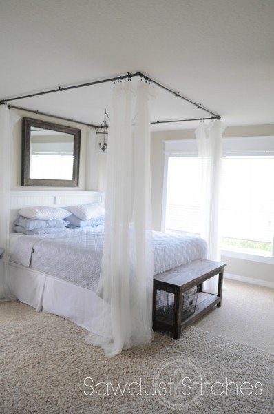 I absolutely love how they give this room a soft spa like quality. This  canopy is just what my room was missing ! It gave it the  Wow factor  without ...