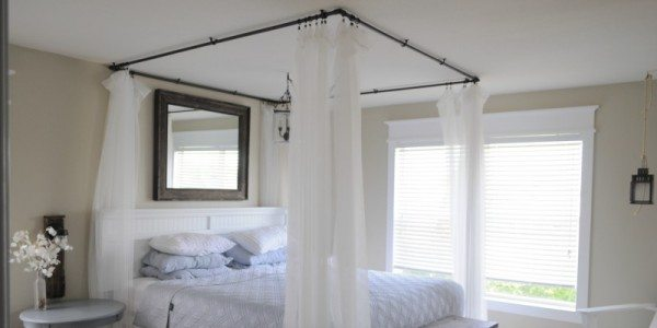 Pvc Bed Canopy Sawdust 2 Stitches