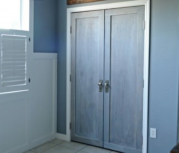 Pantry Bi-fold into French Doors