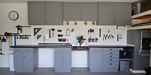 My Recycled Shop Cabinets