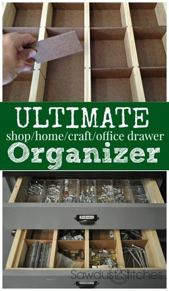 drawer organizer  sawdust2stitches