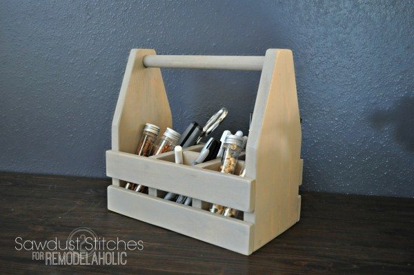 office caddy sawdust2stitches for remodelaholic.com