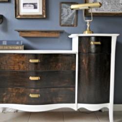 dresser flip makeover 400x800 sawdust2stitches.com