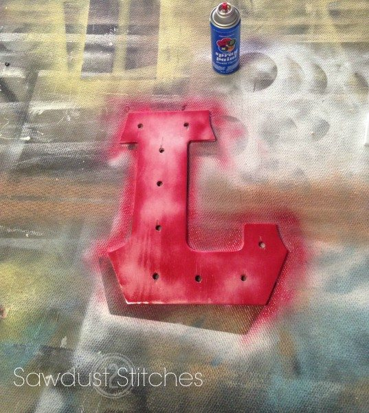 Marquee letter sawdust2stitches.com