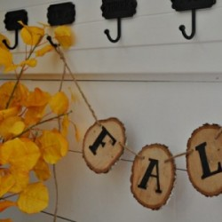 Diy  fall banner feature