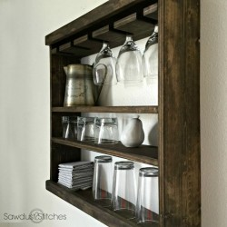 Glass Rack by Sawdust 2 Stitches 2