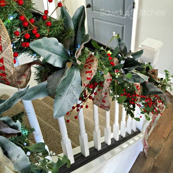 banister by sawdust2stitches Holiday Home tour