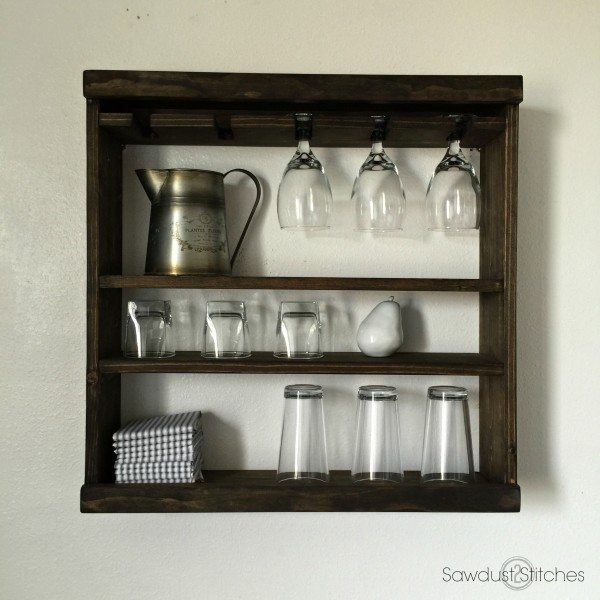 Modular Glass Rack Shelving by Sawdust 2 Stitches