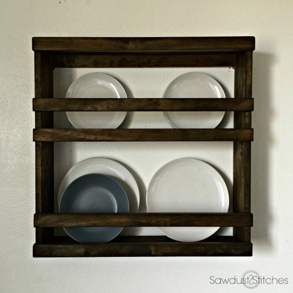 Plate Rack by Sawdust 2 Stitches