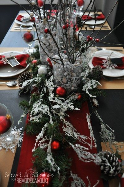 remodelaholic sawdust2stitches christmas table setting 3