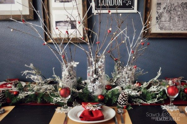 sawdust2stitches remodelaholic christmas table setting 5