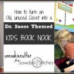 DIY Dr. Suess Themed Book Nook