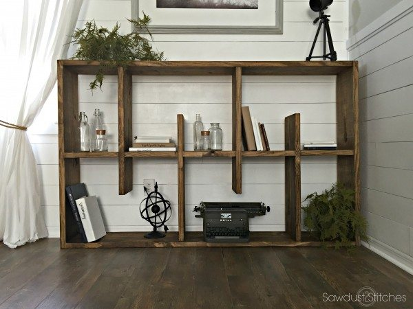 rotating bookcase for buildsomethingcom