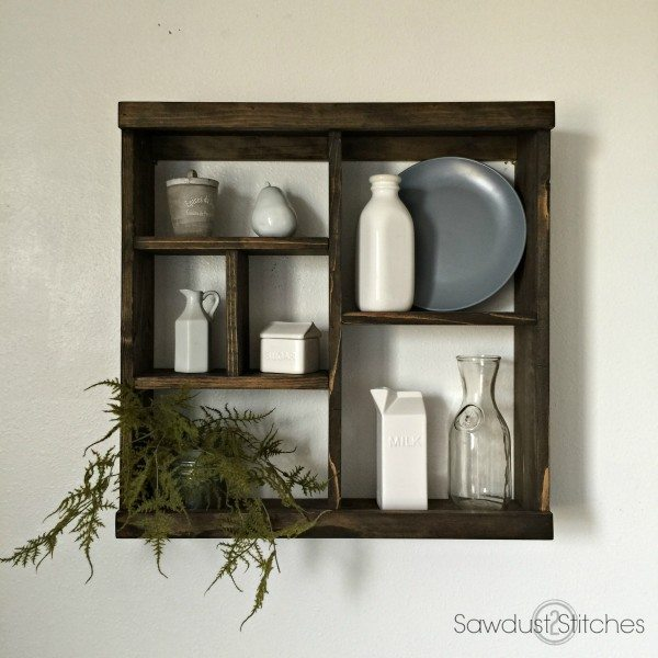 Pottery Barn Inspired Cubby Shelf (Modular)