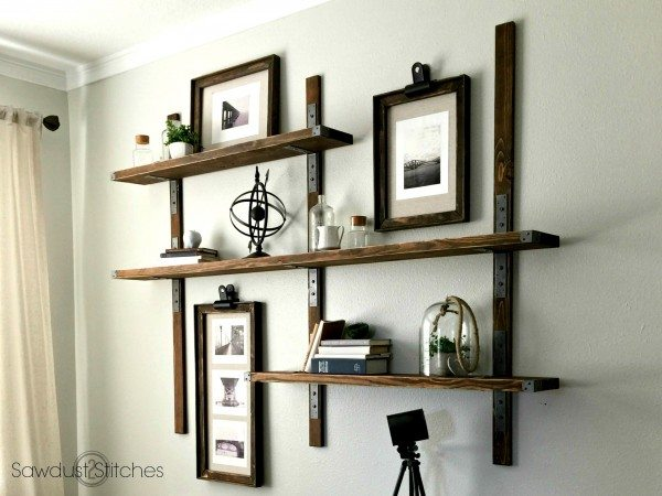 DIY Industrial Style Shelving with Simpson Strong-tie 3